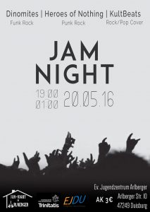 Jam Night Plakat
